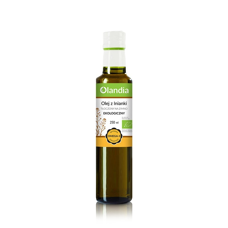 EKO Olej z lnianki (rydzowy) 250 ml