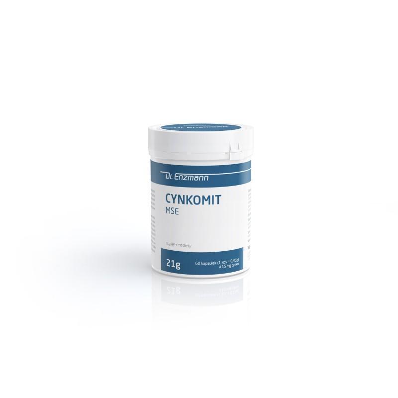 Cynkomit MSE Cynk 15 mg chelat cynku 60 tabletek
