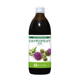 OSTROPEST Sok 500 ml Bez konserwantów suplement diety