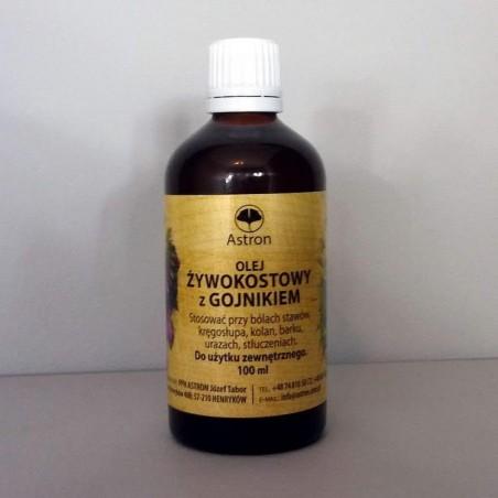 Olej żywokostowy z gojnikiem 100 ml