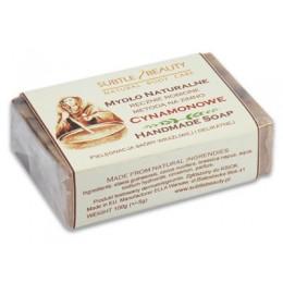Mydło naturalne - Cynamonowe - pielęgnacja skóry wrażliwej i delikatnej 100g