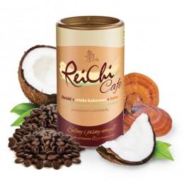 ReiChi Cafe 180g Reishi mleko kokosowe kawa aromat guarany i żeń szenia magnez B12