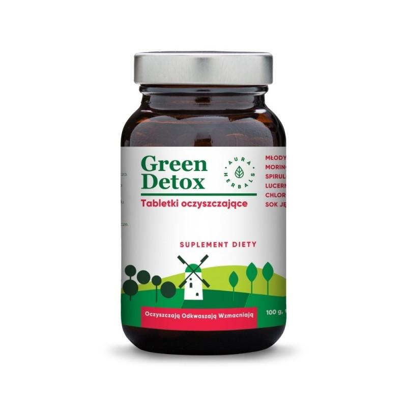 green detox tabletki oczyszczaj ce 100g 75 tabletek. Black Bedroom Furniture Sets. Home Design Ideas