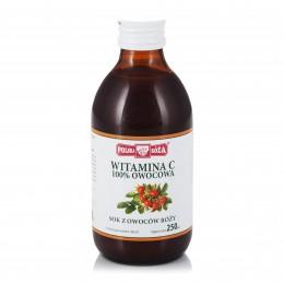Owocowa Witamina C 250 ml - sok z owoców dzikiej róży Polska Róża