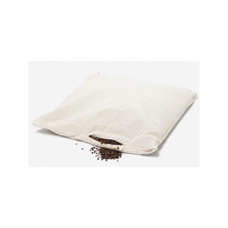 Poduszka gryczana (wsad) – bawełniana z łuską gryki 40/60