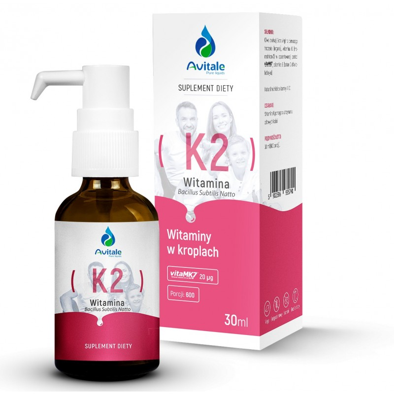 Avitale, Witamina K2 (VitaMk7) 20 µg 30 ml