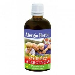 Alergio Herbs – życie bez alergenów 100ml Inwent Herbs