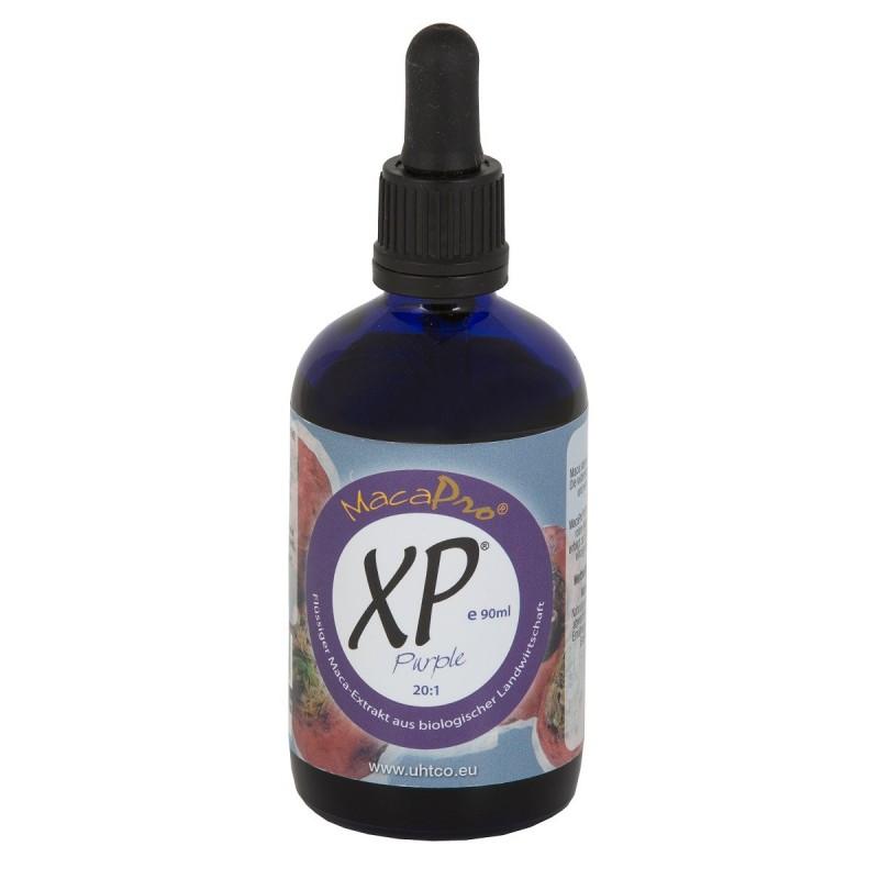 MacaPro® XP® Purple - płynny wyciąg z macy fioletowej ( czerowna ) 20:1 90ml EKO maca BIO pieprzyca peruwiańska Lepidium meyenii
