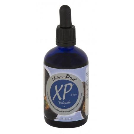 MacaPro® XP® Black - płynny wyciąg z macy czarnej 18:1 - 90 ml EKO maca czarna BIO pieprzyca peruwiańska Lepidium meyenii