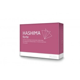 Hashima Forte 30 kapsułek Selen Cynk Witamina B1 Witamina D3