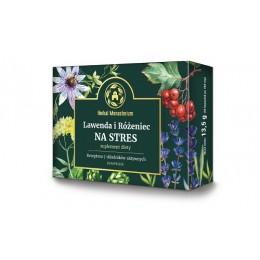 Lawenda i Różeniec na stres 30 kapsułek suplement diety Receptura 7 składników