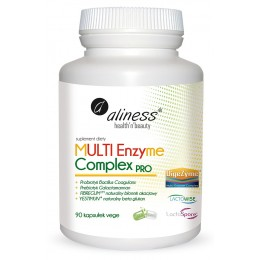 MULTI Enzyme Complex PRO 90 VEGE CAPS Enzymy