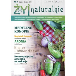 "Czasopismo ""Żyj Naturalnie"" Lipiec Sierpień 2018 numer 7"