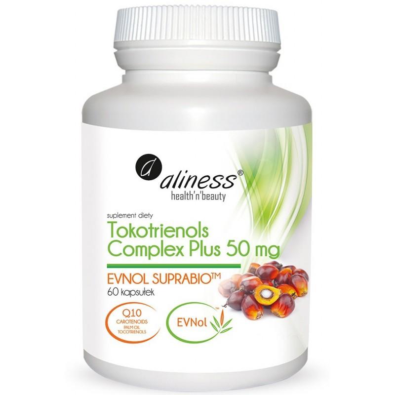 Tokotrienols Complex PLUS 50 mg EVNOL SUPRABIO 60 kapsułek