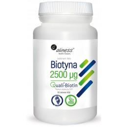 Biotyna 2500 mcg QualiBiotin® 120 tabletek VEGE