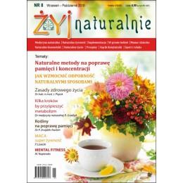 """Czasopismo """"Żyj Naturalnie"""" Wrzesień-Październik 2018 numer 8"""