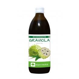 Sok Graviola - 500ml układ odpornościowy witamina C  kwas L - askorbinowy