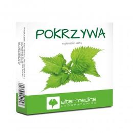 Pokrzywa 60 tabletek suplement diety układ odpornościowy ruchowy stawy mięśnie włosy paznokcie