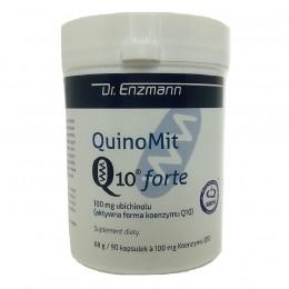 QuinoMit Q10 FORTE 90 kapsułek ubichinol koenzym Q10 Mito Pharma