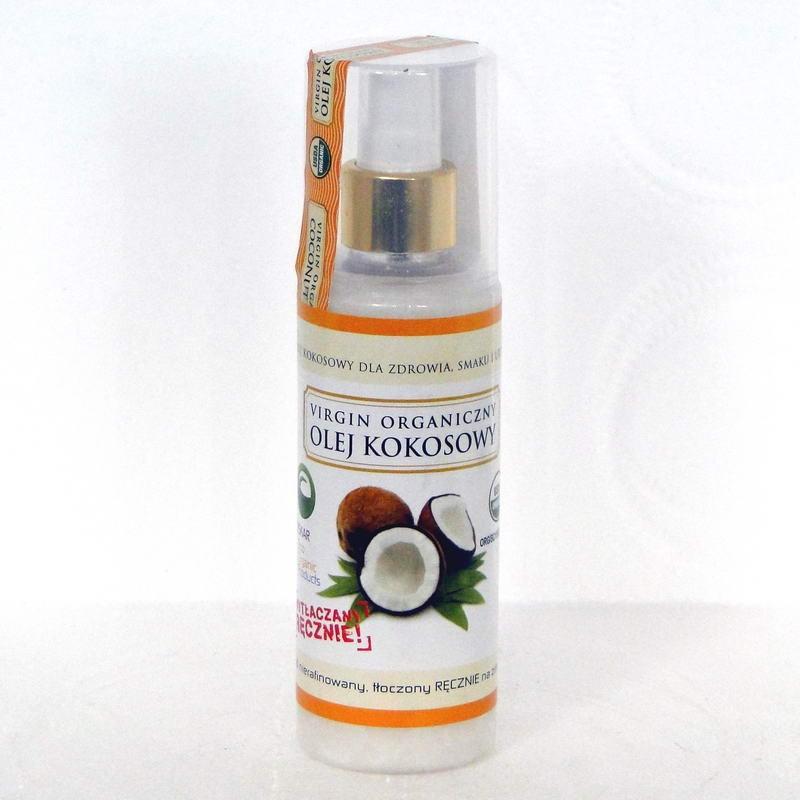 Olej kokosowy nierafinowany ręcznie tłoczony